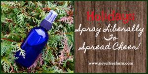 Holidays Room Spray