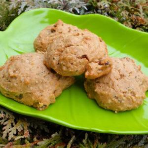Applesauce Hemp Cookies