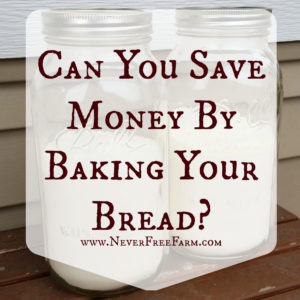 Can You Save Money By Baking Your Bread?
