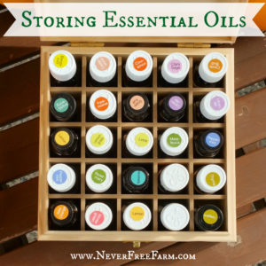 Don't Destroy Your Investment! Storing Essential Oils Properly