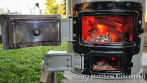 Cooking Over A Ecozoom Versa Stove